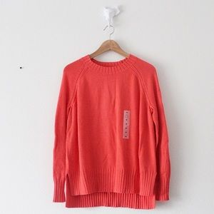 NWT Old Navy Coral Light Weight Sweater